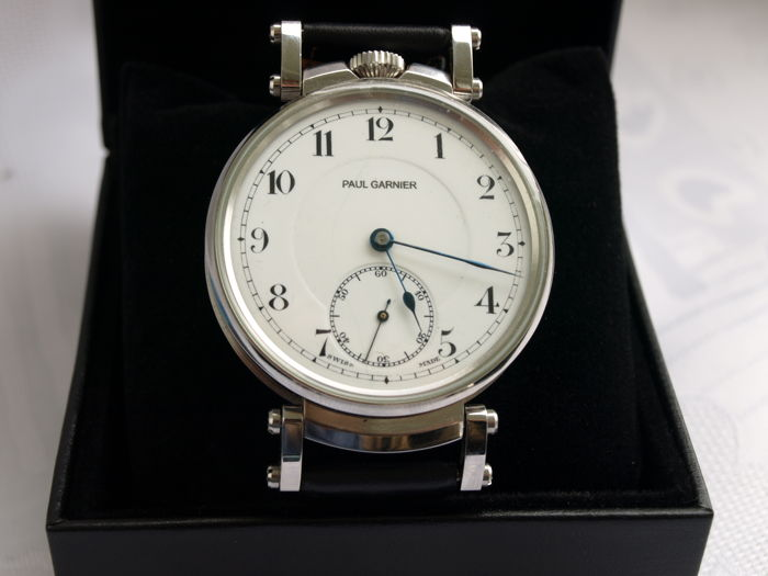 3 Paul Garnier men's marriage wristwatch 1900-1905