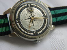 34 Molnija Sailing marriage wristwatch between 1970-79