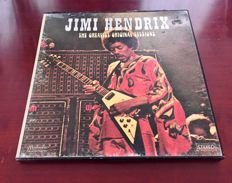 Jimi Hendrix Box - The Greatest Original Sessions (Rare French 4-LP Vinyl Box Set)