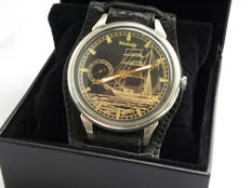 37 Molnija Sailing watch marriage wristwatch between 1950-55