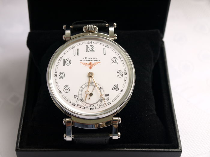23 Doxa men's marriage wristwatch 1905-1910