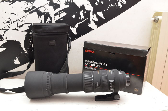 Sigma APO 150-500mm f/5-6.3 DG OS HSM Lens - for Nikon