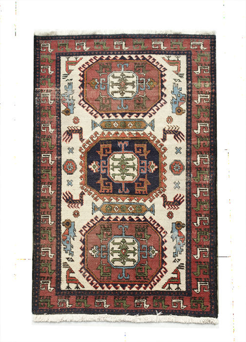 AUTHENTIC Turkish (ANATOLIA) Kazakh Rug 158x103cm or 5.4 by 3.5