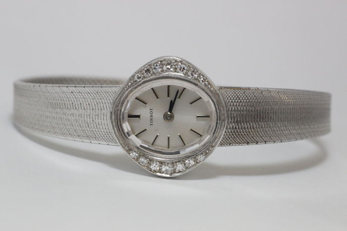 Tissot Diamond – women's wristwatch – 1970s.