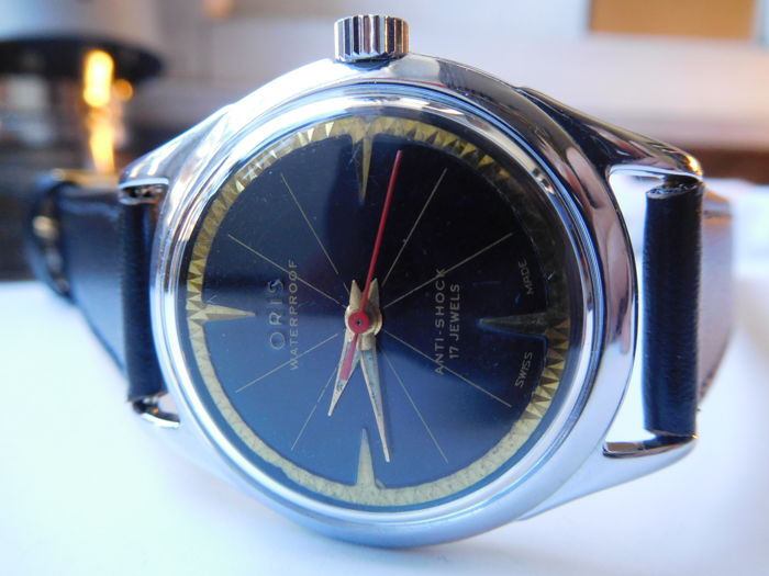 ORIS Classic Deluxe Model, Genève, men's wristwatch, circa 1960