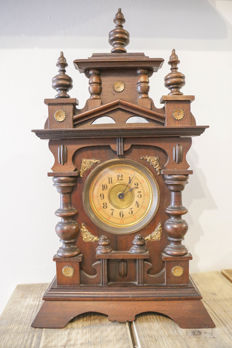 German musical table clock – circa 1900