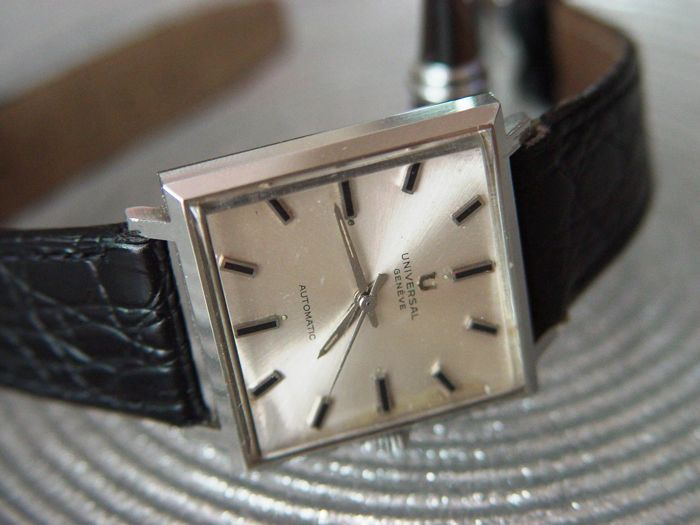 Universal Geneve Super Microtor - Dress - Men's watch - 1970
