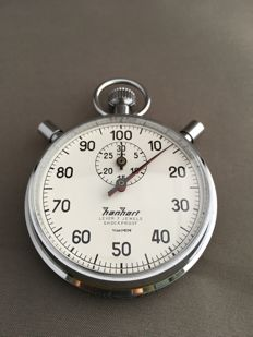 Hanhart rattrapante stopwatch from the 1970s
