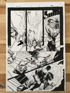 Original Art Page By Jack Herbert - Dynamite Entertainment - Kirby: Genesis #6 - Page 19 - Signed - (2012)