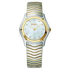 Ebel - Classic 18 kt gold - Mother-of-pearl - Ref.: 1256F21 - Box/papers