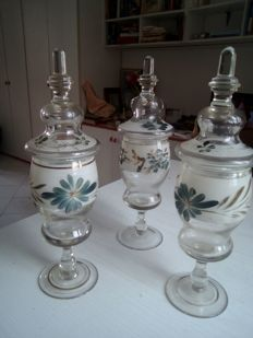 Glass vases - vintage