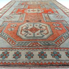 "Kars Kazakh - 330 x 223 cm - ""large Oriental eye-catcher - 100% wool - in beautiful condition"" - with certificate"
