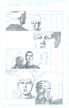 Original Art Page By Pat Olliffe - Marvel Comics - The Call #4 - Page 4 - (2003)