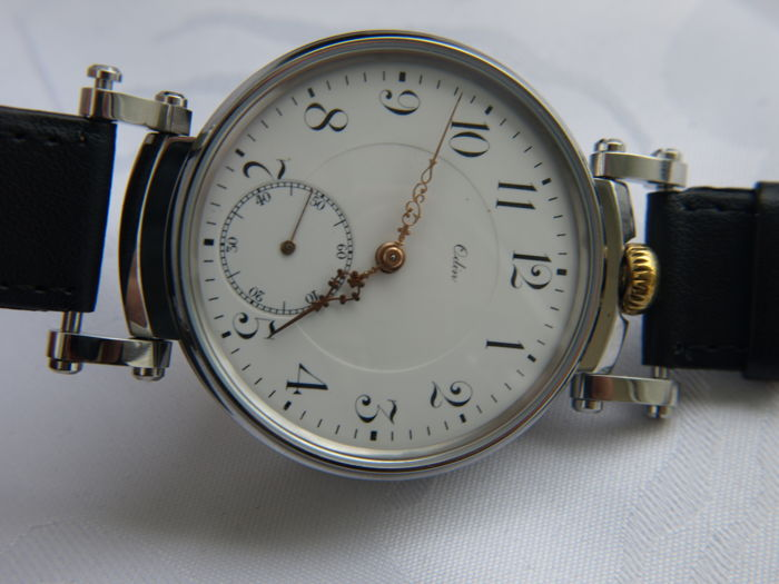 16 Odin F. Beer-Grüring men's marriage wristwatch 1905/1910