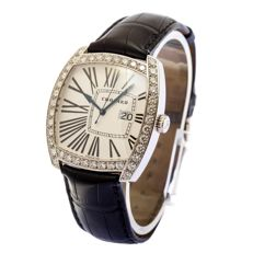 Chopard Classic Date Vision factory diamonds  -mens watches