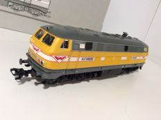 Märklin H0 - (240901) 37748 - Diesel locomotive Bauzug of the firm H. F. Wiebe. (1666) .