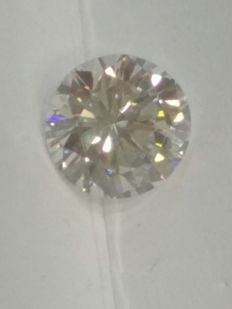 2.16ct Round Brilliant Cut Diamond - D/IF/Ex/Ex/None - GIA Certificate (Unsealed) - HPHT