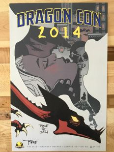 Tim Sale / Brennan Wagner - Limited Edition Signed Print - Dragon Con 2014