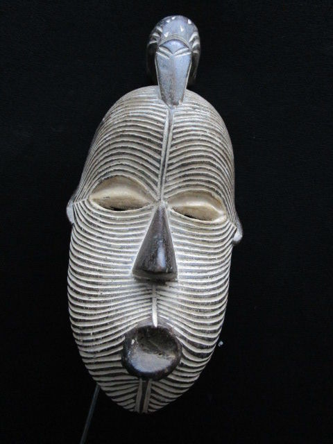 Splendid SONGYE or SONGUE KIFWEBE mask - Congo.