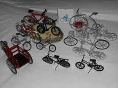 17 x Miniature bikes from 1970 - to present
