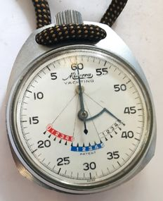 Pocket stopwatch Minerva Yachting - Switzerland ,1960s