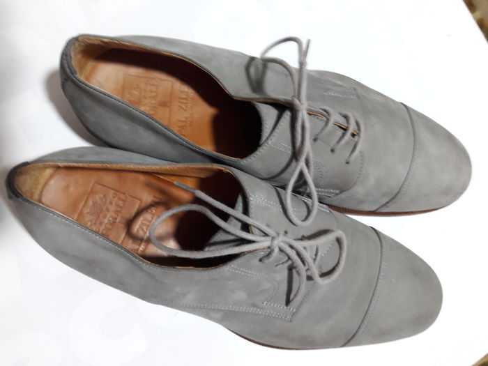 Pal Zileri - laced men's suede shoes