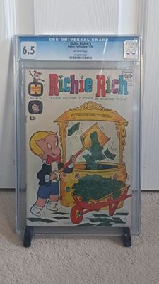 Harvey Publications - Richie Rich #74 – CGC 6.5 - (1968)