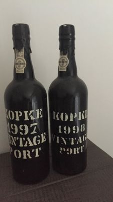 1997 & 1998 Vintage Port Kopke - 2 bottles