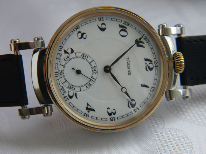 19 Tarnan men's marriage wristwatch 1905-1910