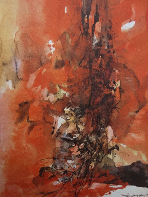 Zao Wou-Ki (after ) - Untitled