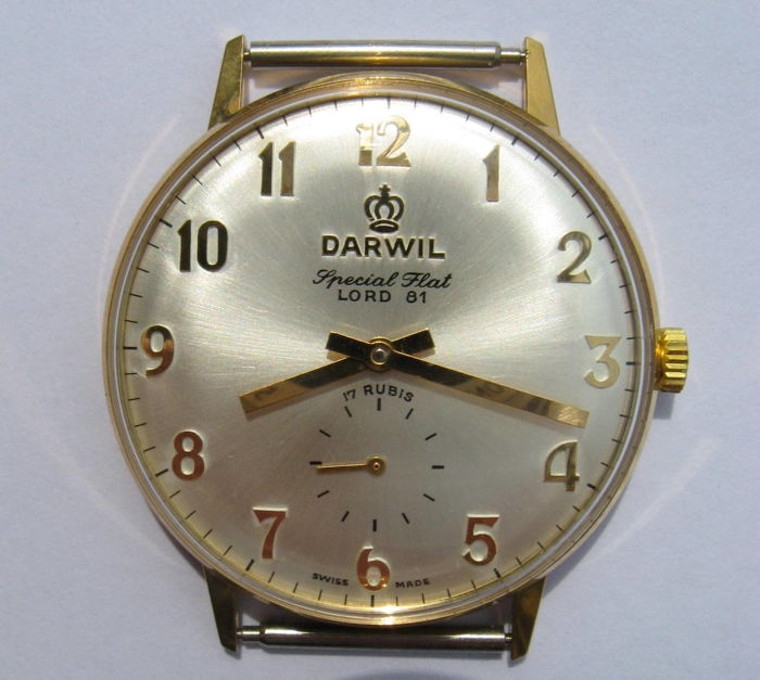 DARWIL — SWISS-Made men's