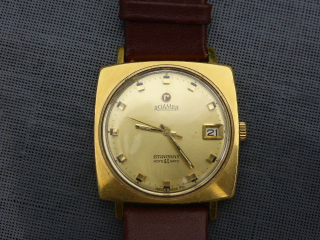 Roamer of Switzerland quality wristwatch - around 1970
