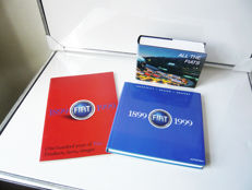 """All the Fiats"", 874 pages from start up to 1996 and two fantastic fine 100 years anniversary books from Fiat"