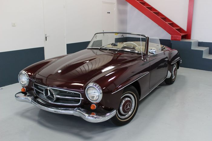 Mercedes Benz 190sl Roadster 1956 Catawiki
