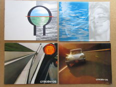 Citroen DS & ID - Lot of 4 catalogues - 1959/1960/1971