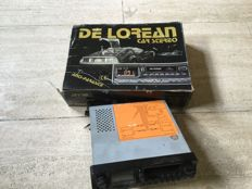 Delorean (Back to the Future) - car radio with autoreverse cassette player