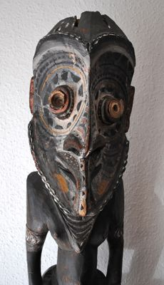 Impressive Ancestor Figure - With Provenance - Middle Sepik - Papua New Guinea