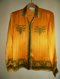Escada - silk design blouse - 1980-1990