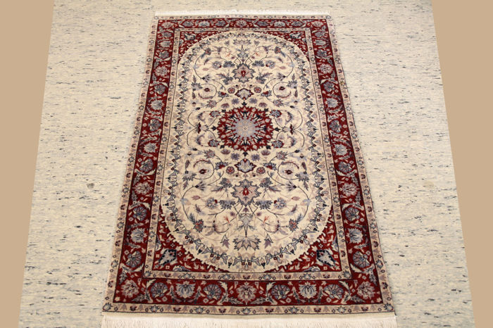 Hand-knotted carpet China / Isfahan approx. 153 x 90 cm
