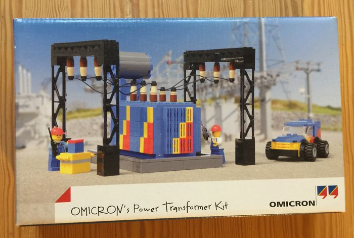 Omicron's Power Transformer Kit , rare Lego issued for customers of the company