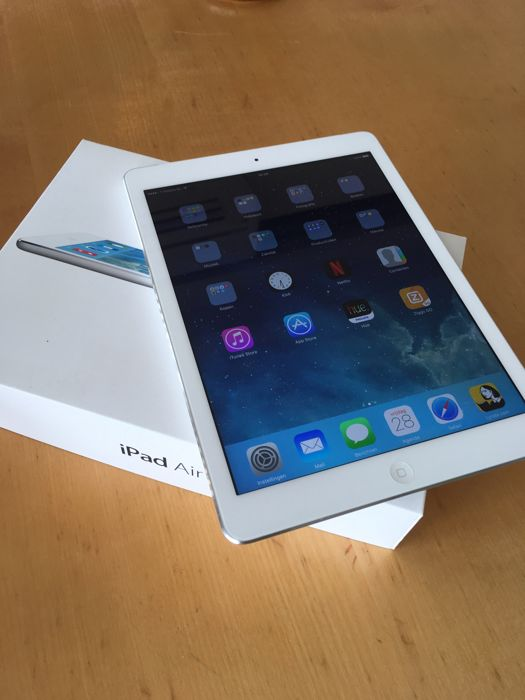 Apple iPad Air Cell 4G 16Gb White (Apple part#: MD794NF/A )
