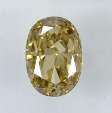 0.49 ct Diamond, VS2 Oval NO RESERVE PRICE