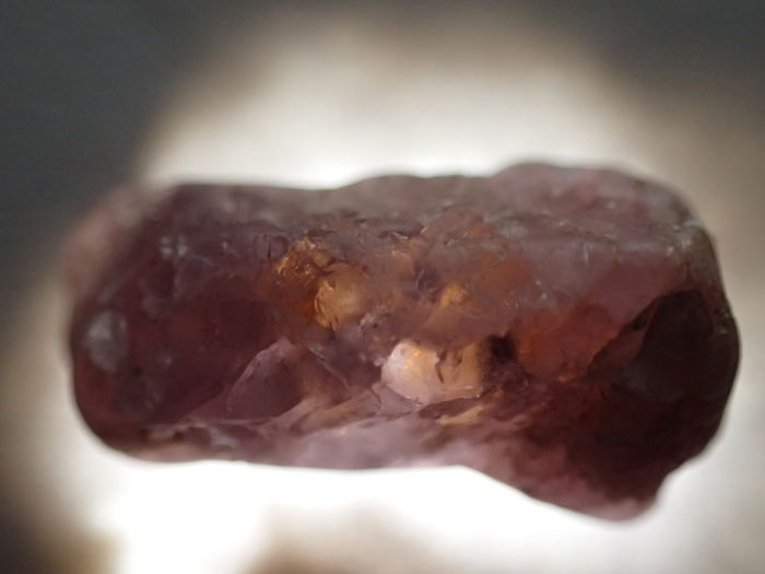 Top Unheated/Untreated Padparadscha Color Sapphire Rough - 6 x 12 x 5 mm - 4.35 ct