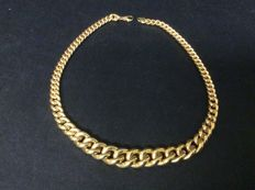 Size-increasing necklace in 750 gold – Italy