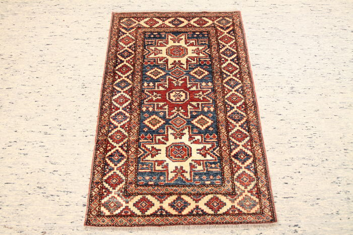 Hand-knotted Afghanistan carpet Ziegler approx. 120 x 77 cm