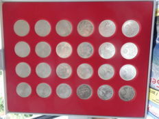 Germany - 24 x 10 DM 1972 Olympic games - silver