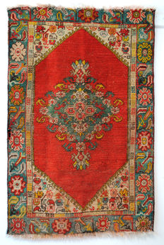 Antique Konya rug from Anatolia, around 1910 - 1920