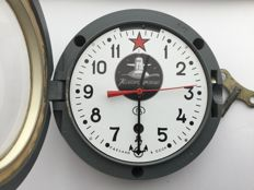 Original Russian CCCP Navy submarine clock - February 1982