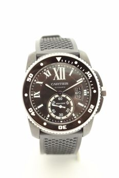 Cartier Calibre Carbon Diver Ref. 3729