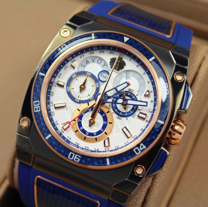 Savoy - Extreme Carbon - Swiss Made Limited Edition - Men - 2011-present